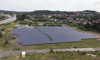 ENGIE plaatst fotovoltaïsche installatie op site van gascentrale