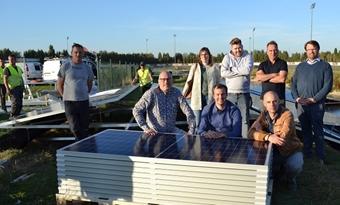 Kuurne bouwt drijvend zonnepark op vijver paardenrenbaan
