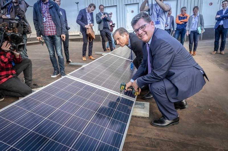 15.000 zonnepanelen voor Volvo Car Gent: Volvo bouwt samen met Eneco aan duurzame toekomst.