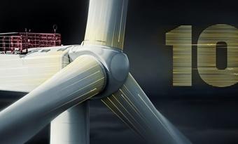 MHI Vestas lanceert 10 megawatt-windturbine