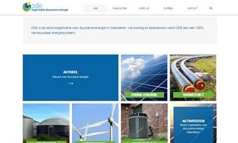 Nieuwe website ODE