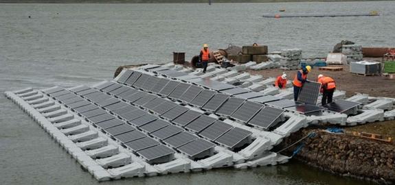 Drijvende zonnepanelen goed voor 1,1 gigawatt: 6 projecten op een rij