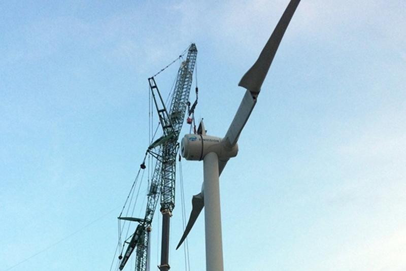 Wereldprimeur: supergeleider zorgt voor lichtere windturbine