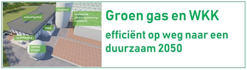 """Studiedag """"Groen gas en WKK: efficiënt op weg naar een duurzaam 2050"""