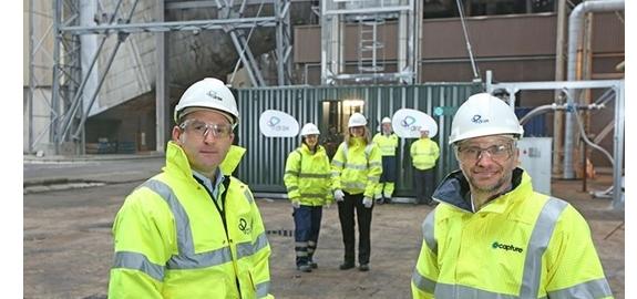 Europa's eerste proefproject voor het afvangen en opslaan van koolstof uit bio-energie binnenkort een feit