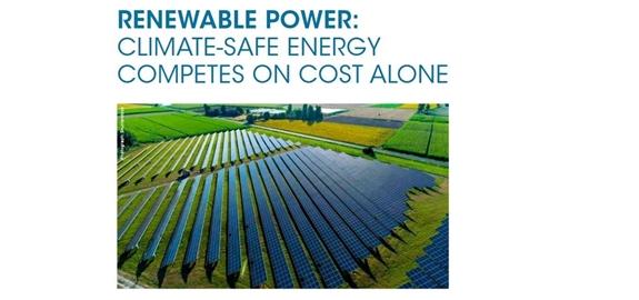 Memorandum IRENA: Milieuvriendelijke energie concurreert enkel op kosten