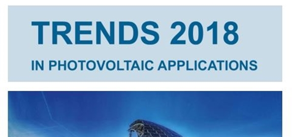 "International Energy Agency Photovoltaic Power System Programme (IEA PVPS) publiceert zijn 23e ""Trends in Photovoltaic Applications"" rapport."