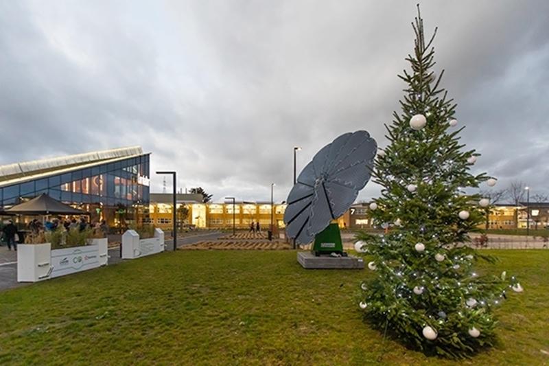 4.000 kWh groene energie voor Corda Campus