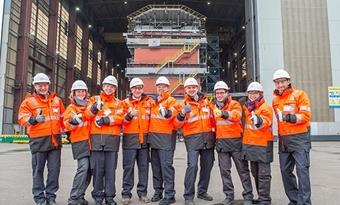 Aanleg Vlaams stopcontact op zee op schema