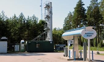 Biomethaan bereikt een aandeel van 90 % in voertuiggas in Zweden
