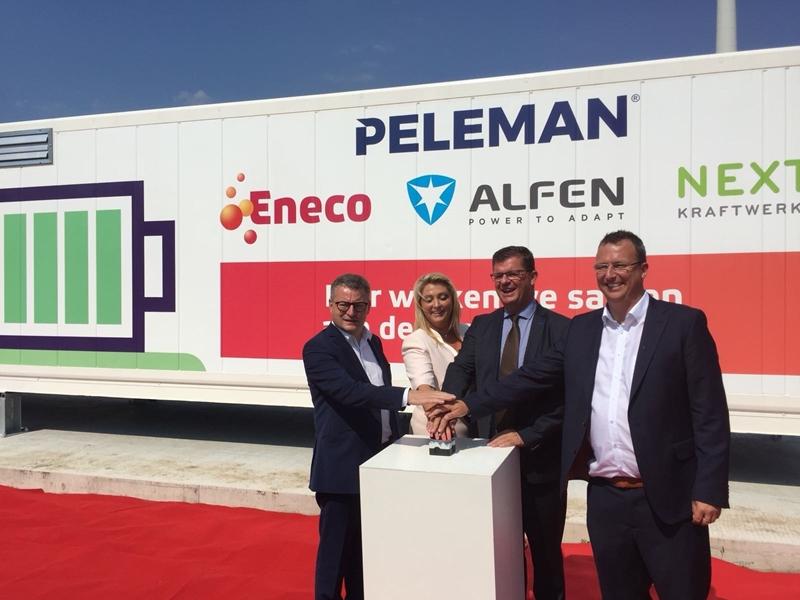 Innovatieve batterij bij Peleman Industries houdt Belgisch stroomnet mee in balans
