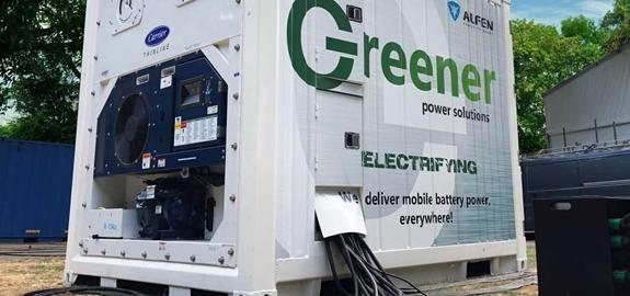 Opslagbatterijen maken festivalseizoen een stukje duurzamer