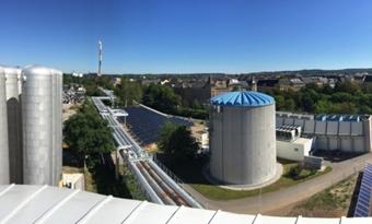 Zonnewarmte neemt toe in Duitse warmtenetten