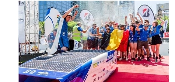 Belgische zonnewagen wordt wereldkampioen
