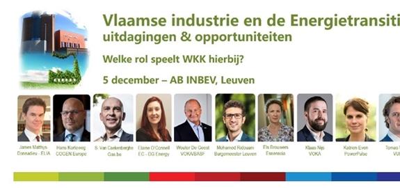 Vlaamse industrie en de Energietransitie: uitdagingen en opportuniteiten: welke rol speelt WKK hierbij?