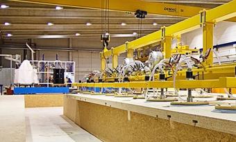Warmtepompen verhogen de energie-efficiëntie van een Zwitserse spaanplaatfabriek in Krono.