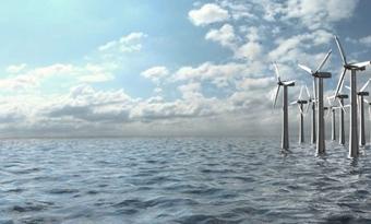 Nieuwe installatiemethode windmolens laat het zeeleven met rust