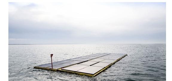 Oceans of Energy levert op Noordzee eerste drijvende zonnepark op zee op