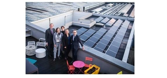 Proefproject herverdeelt zonne-energie twee Brusselse scholen onder hun buren