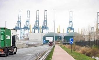 Antwerpse biogasinstallatie opnieuw in werking