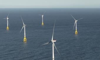 Europese offshore-windenergiecapaciteit groeide in 2018 met 18%