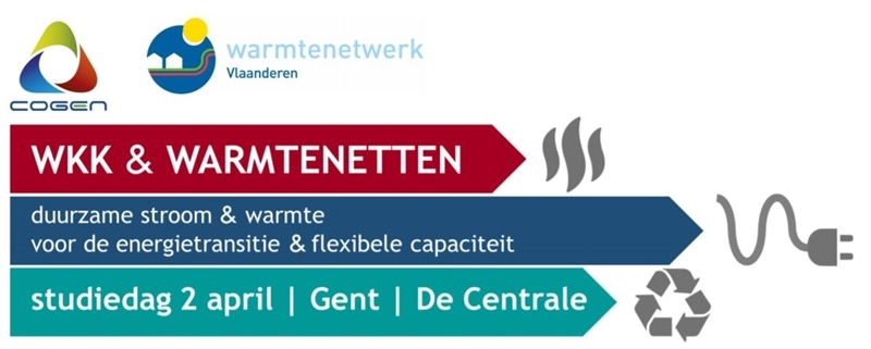 STUDIEDAG WKK & WARMTENETTEN - 2 april - Gent