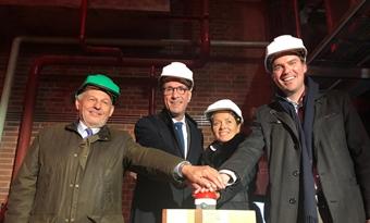 Nieuwe WKK voor stadsverwarming Gent