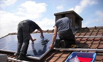 Opmerkelijk meer zonnepaneelinstallaties in 2018