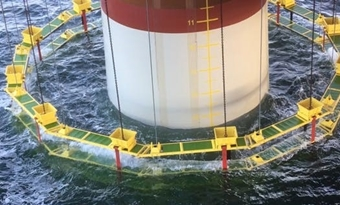 Met 'onderwaterluxaflex' wil Van Oord stiller heien op Noordzee