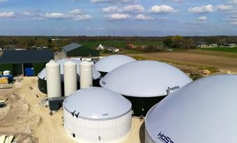 Nederlandse gecrowdfunde biogasinstallatie levert eerste biomethaan aan het net