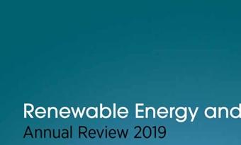 Hernieuwbare energie en werkgelegenheid - Jaaroverzicht 2019