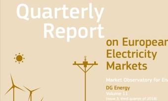 Driemaandelijks verslag over de Europese waarnemingspost voor de elektriciteitsmarkten voor energie