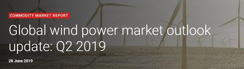 Wereldwijde capaciteit van windenergie zal groeien met 60% in de komende 5 jaar