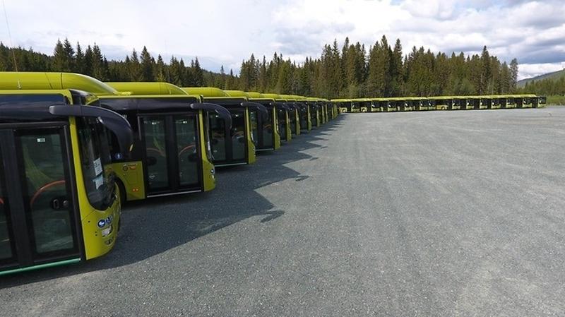 Noorse stad introduceert 189 bussen die op biogas en biodiesel rijden