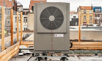 Om fossiele brandstoffen te vermijden, importeerde de Colruyt Groep Colruyt R290-warmtepompen.