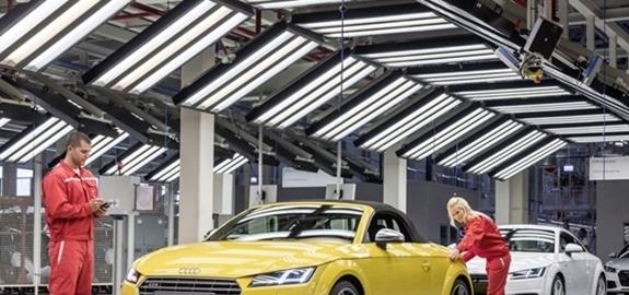Aardwarmte essentieel onderdeel in Audi fabriek in Hongarije die koolstofneutraal wordt