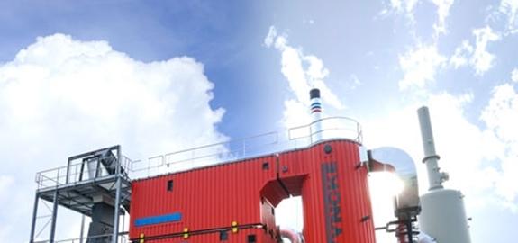 CO2-afvang op een biomassaketel voor de glastuinbouw