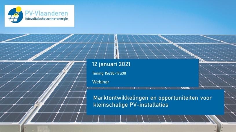 Marktontwikkelingen en opportuniteiten voor kleinschalige PV-installaties