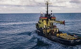 Zeewier en zonnepanelen voor het eerst samen op zee