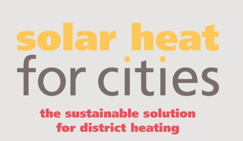 Zonnewarmte voor steden - brochure en infographics
