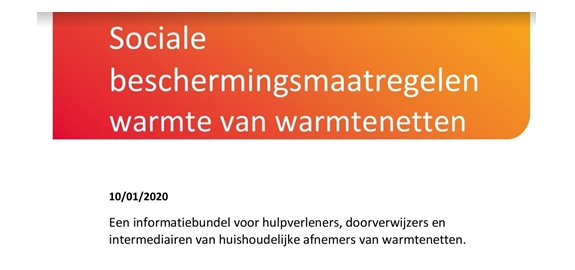 Brochure over sociale maatregelen in warmtenetten