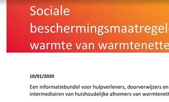Brochure over sociale maatregelen in warmtenetten