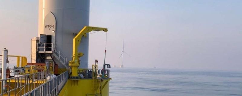 De grootste drijvende windturbine ligt voor de kust van Portugal