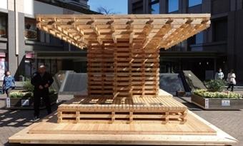 Zonne-energie bomen voor koele plekken in stedelijke hotspots