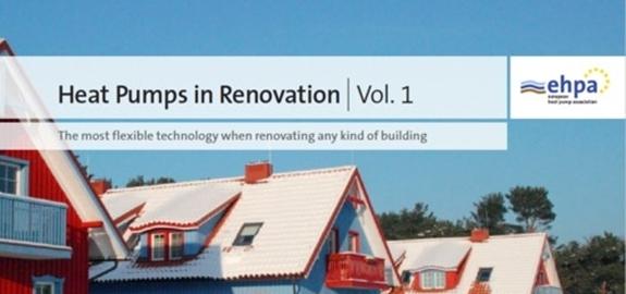 De Europese warmtepompassociatie (EHPA) publiceert een brochure over warmtepompen in renovaties