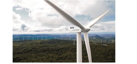 Het nieuwe Spaanse windpark zal de krachtigste onshore windturbine hebben.