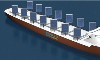 Zonnezeil uit Japan maakt scheepvaart duurzamer