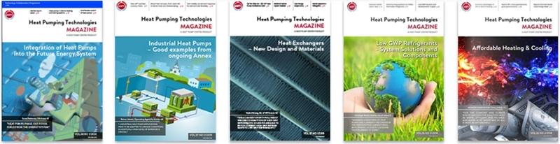 Het magazine Heat Pumping Technologies