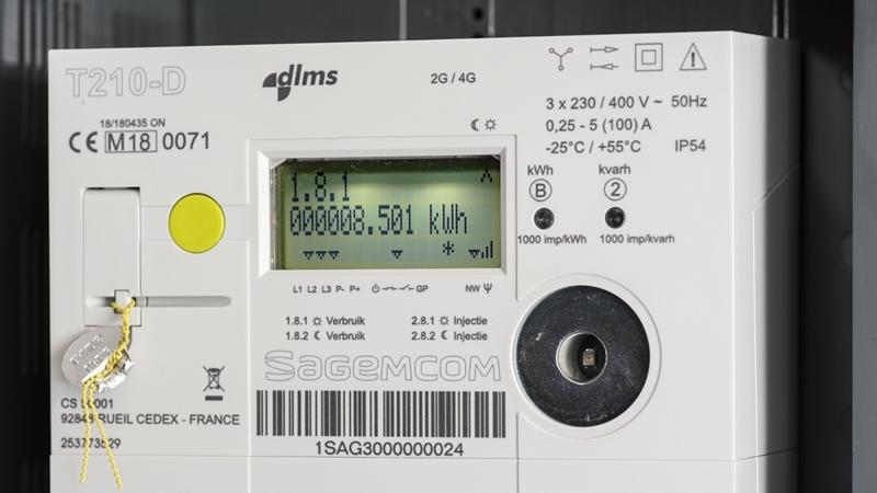 De stand van zaken installatie digitale meters