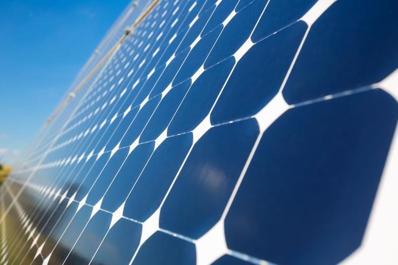 Zonnepaneel blijft efficiënt met koelende watergel